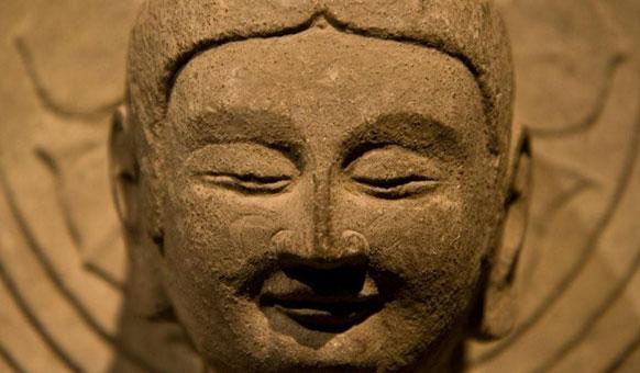 Golden-Head-Buddha