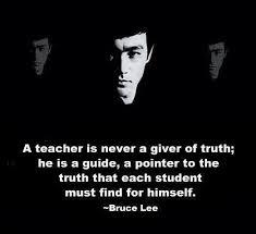 teacher bruce lee